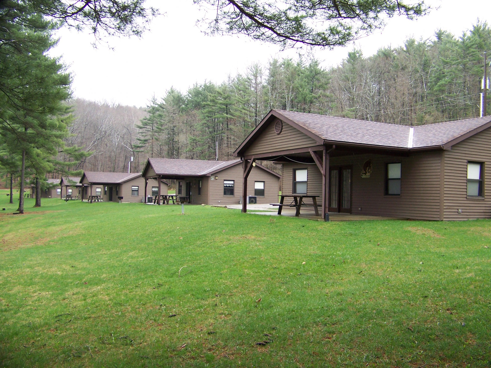 leaf fallen cabins hocking rental cabin ohio pin hills travel