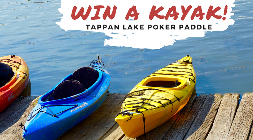 Win a Kayak at Tappan's Poker Paddle!