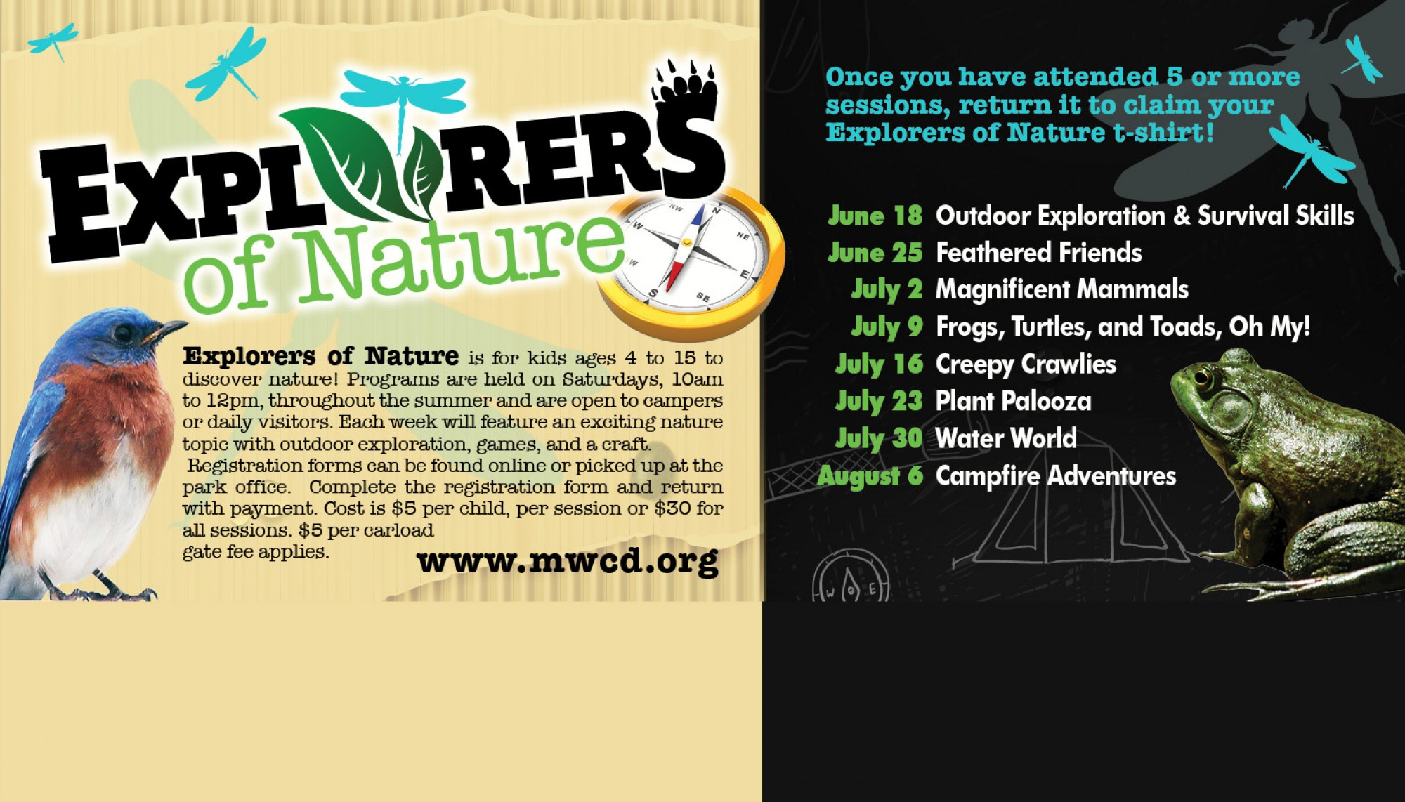 NEW! Explorers of Nature Program