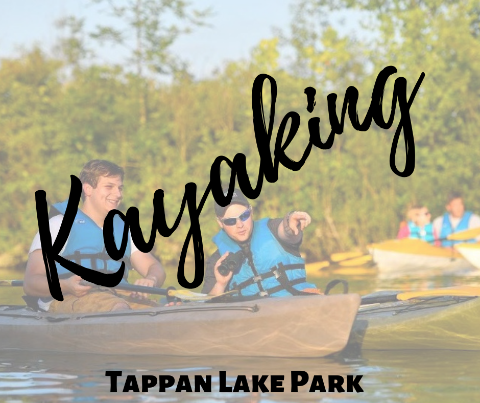 Kayaking at Tappan Lake Park